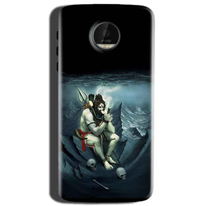 Motorola Moto Z Play Mobile Covers Cases Shiva Smoking - Lowest Price - Paybydaddy.com