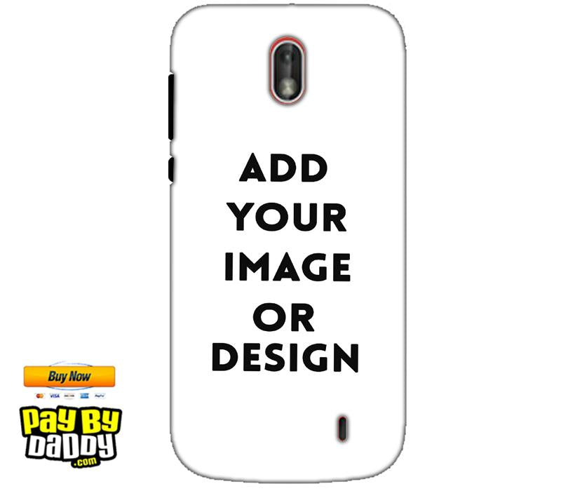 Customized Nokia 1 Mobile Phone Covers & Back Covers with your Text & Photo