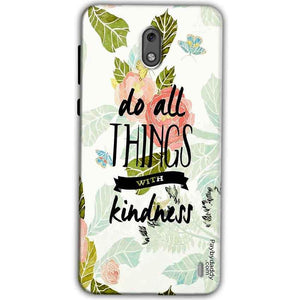 Nokia 2 Mobile Covers Cases Do all things with kindness - Lowest Price - Paybydaddy.com