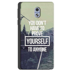 Nokia 3 Mobile Covers Cases Donot Prove yourself - Lowest Price - Paybydaddy.com