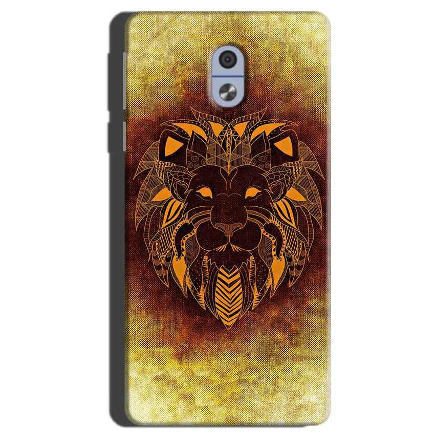 Nokia 3 Mobile Covers Cases Lion face art - Lowest Price - Paybydaddy.com
