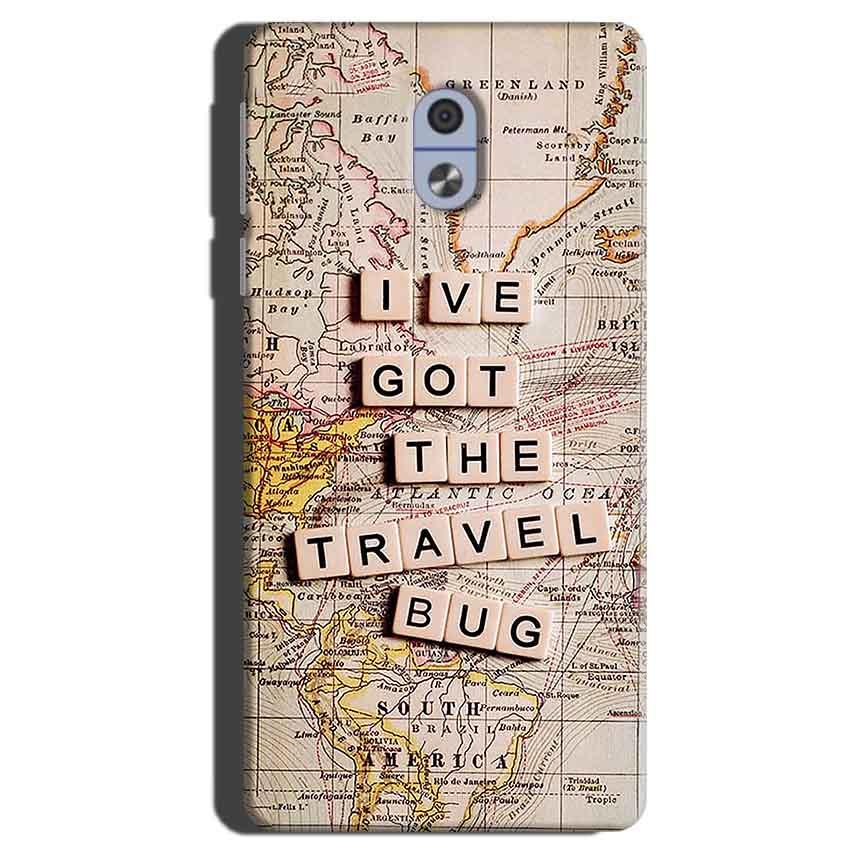 Nokia 3 Mobile Covers Cases Live Travel Bug - Lowest Price - Paybydaddy.com