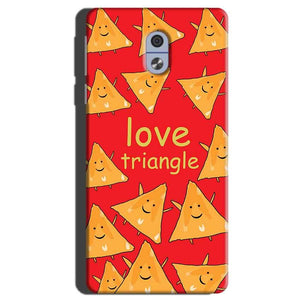 Nokia 3 Mobile Covers Cases Love Triangle - Lowest Price - Paybydaddy.com