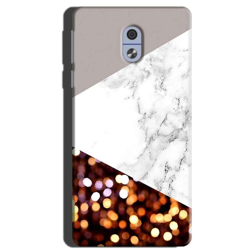 Nokia 3 Mobile Covers Cases MARBEL GLITTER - Lowest Price - Paybydaddy.com