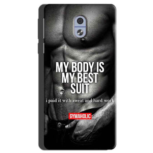 Nokia 3 Mobile Covers Cases My Body is my best suit - Lowest Price - Paybydaddy.com