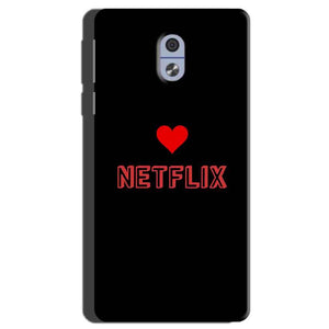 Nokia 3 Mobile Covers Cases NETFLIX WITH HEART - Lowest Price - Paybydaddy.com