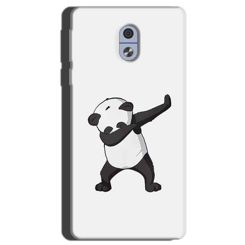 Nokia 3 Mobile Covers Cases Panda Dab - Lowest Price - Paybydaddy.com