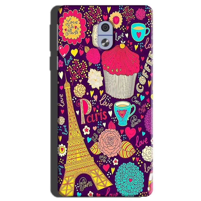 Nokia 3 Mobile Covers Cases Paris Sweet love - Lowest Price - Paybydaddy.com