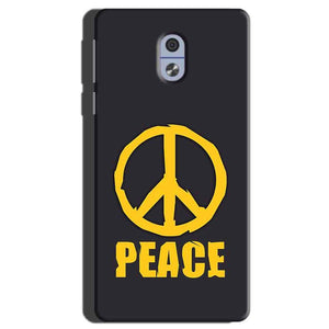 Nokia 3 Mobile Covers Cases Peace Blue Yellow - Lowest Price - Paybydaddy.com