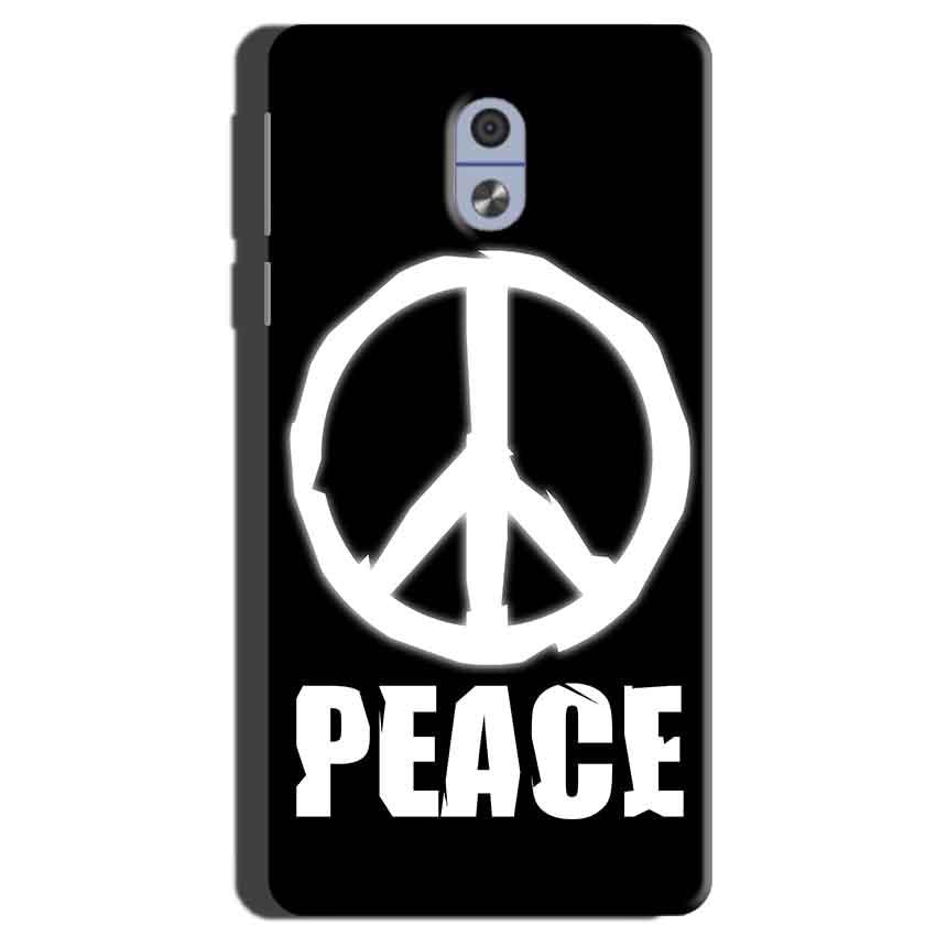 Nokia 3 Mobile Covers Cases Peace Sign In White - Lowest Price - Paybydaddy.com