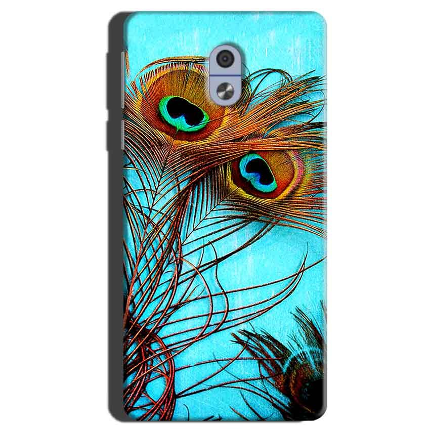Nokia 3 Mobile Covers Cases Peacock blue wings - Lowest Price - Paybydaddy.com