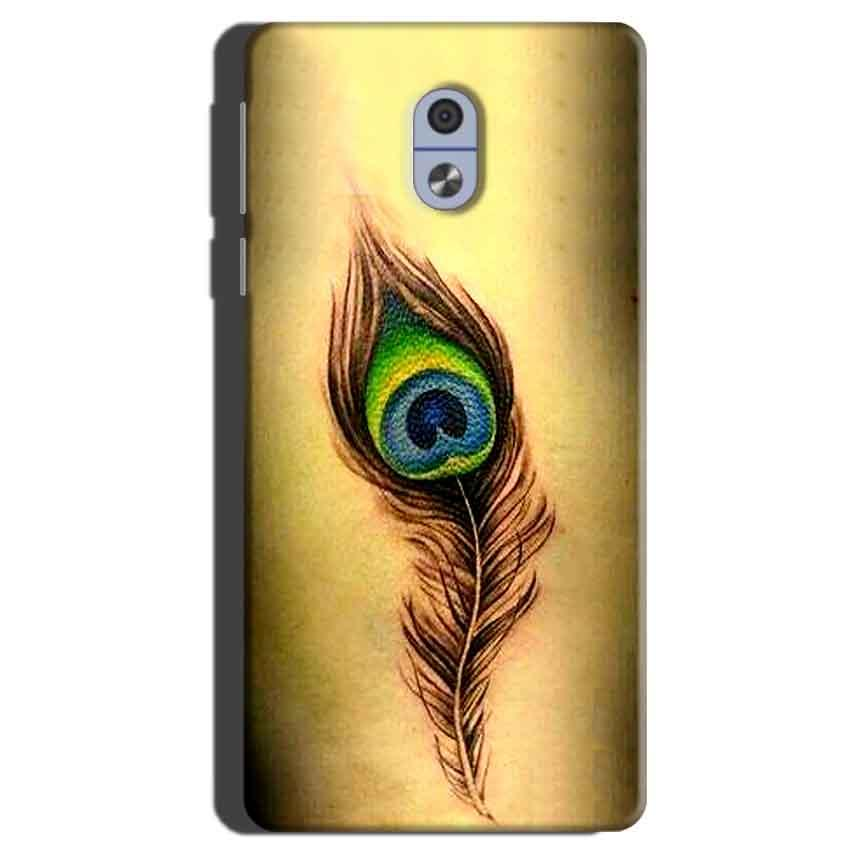 Nokia 3 Mobile Covers Cases Peacock coloured art - Lowest Price - Paybydaddy.com