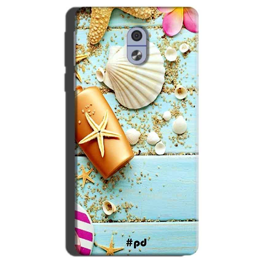 Nokia 3 Mobile Covers Cases Pearl Star Fish - Lowest Price - Paybydaddy.com