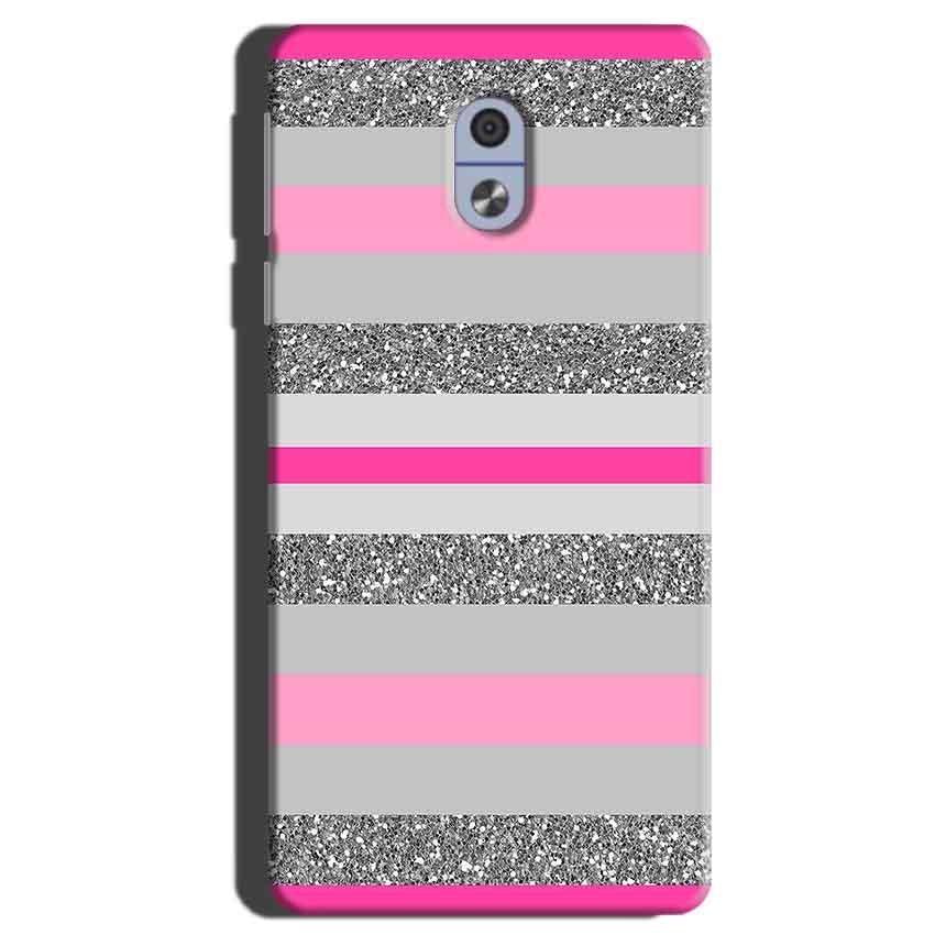 Nokia 3 Mobile Covers Cases Pink colour pattern - Lowest Price - Paybydaddy.com