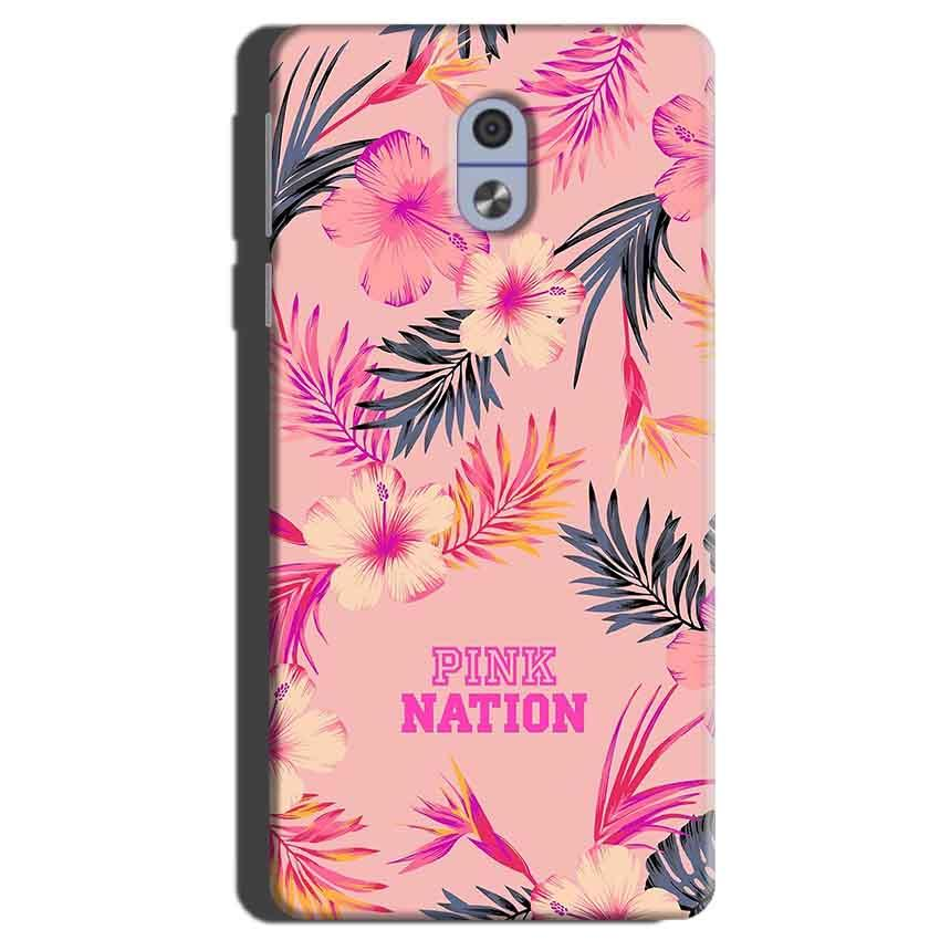 Nokia 3 Mobile Covers Cases Pink nation - Lowest Price - Paybydaddy.com