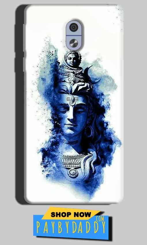 Nokia 3 Mobile Covers Cases Shiva Blue White - Lowest Price - Paybydaddy.com
