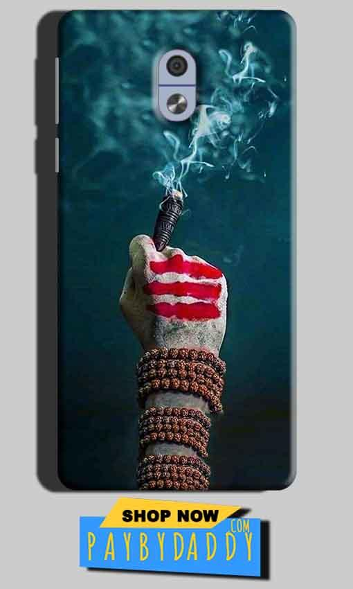 Nokia 3 Mobile Covers Cases Shiva Hand With Clilam - Lowest Price - Paybydaddy.com