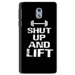 Nokia 3 Mobile Covers Cases Shut Up And Lift - Lowest Price - Paybydaddy.com