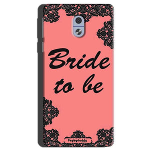 Nokia 3 Mobile Covers Cases Mobile Covers Cases bride to be with ring Black Pink - Lowest Price - Paybydaddy.com