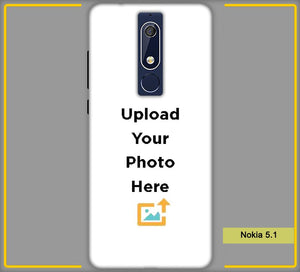 Nokia 5.1 Photo & Text Phone Photo Back Cover - Paybydaddy