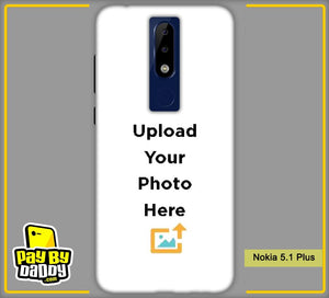 Customized Nokia 5.1 Plus Back Mobile Photo Phone Covers & Back Covers with your Text & PhotoPhoto Cover,Custom Cover,Picture With Cover