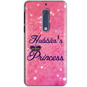 Nokia 5 Mobile Covers Cases Hubbies Princess - Lowest Price - Paybydaddy.com