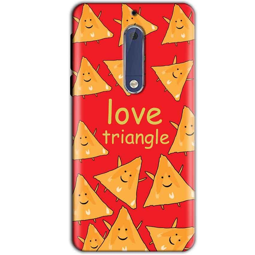 Nokia 5 Mobile Covers Cases Love Triangle - Lowest Price - Paybydaddy.com