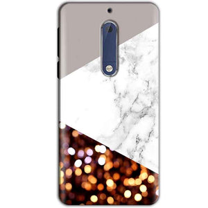Nokia 5 Mobile Covers Cases MARBEL GLITTER - Lowest Price - Paybydaddy.com