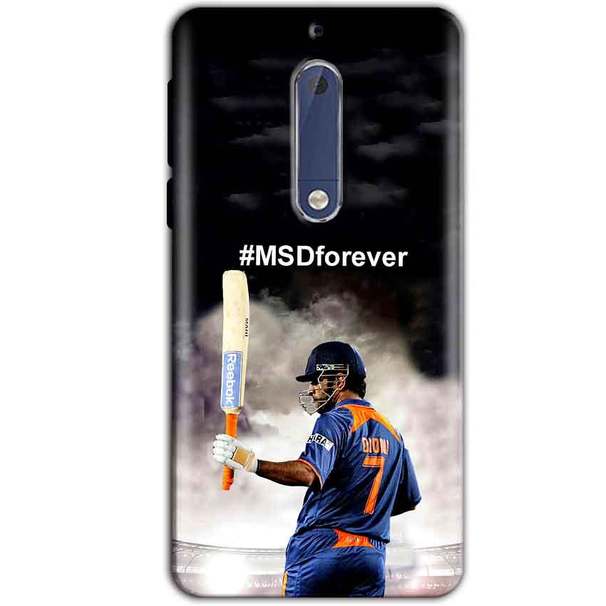 Nokia 5 Mobile Covers Cases MS dhoni Forever - Lowest Price - Paybydaddy.com