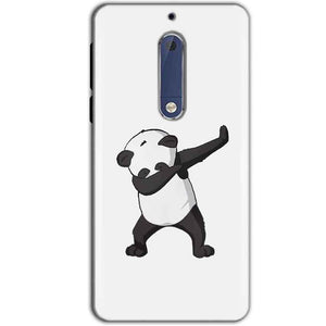 Nokia 5 Mobile Covers Cases Panda Dab - Lowest Price - Paybydaddy.com