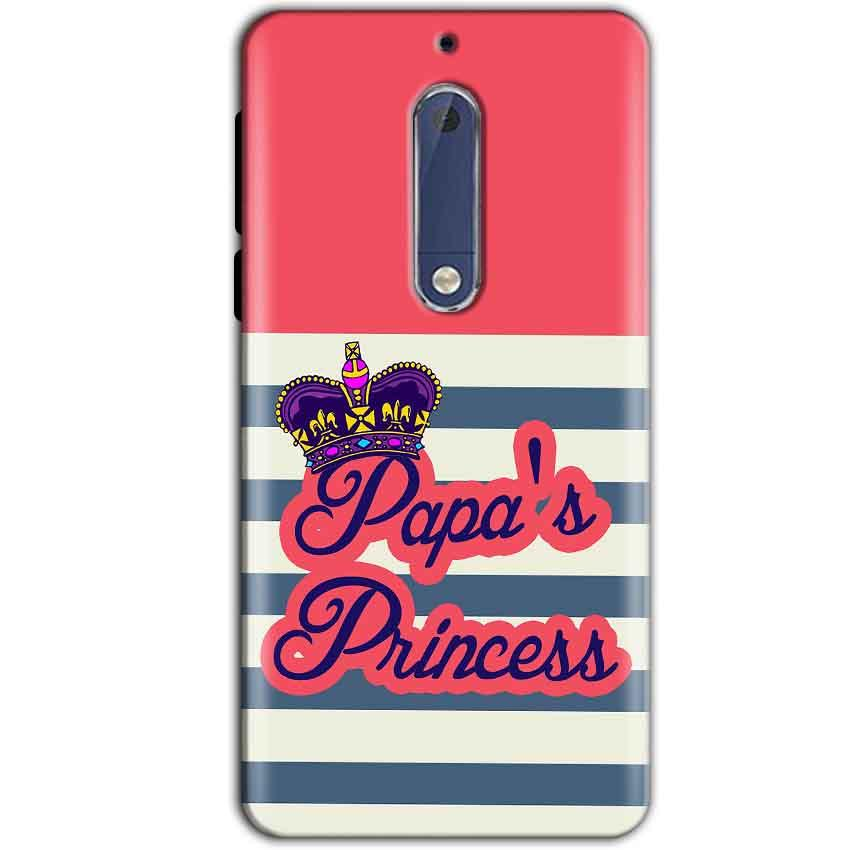 Nokia 5 Mobile Covers Cases Papas Princess - Lowest Price - Paybydaddy.com