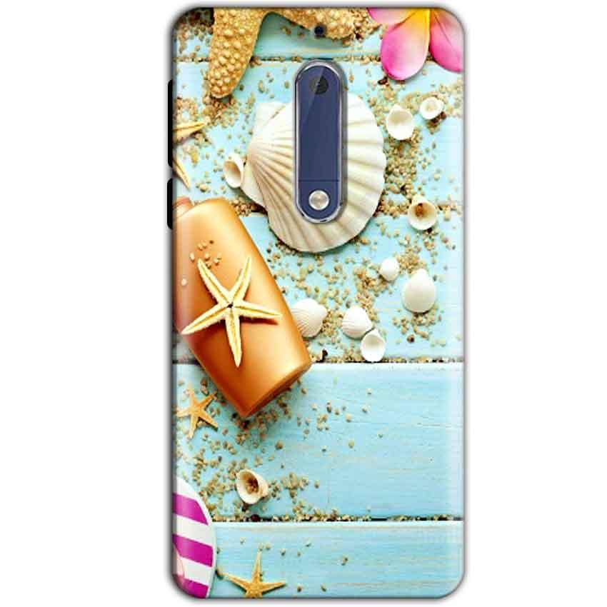 Nokia 5 Mobile Covers Cases Pearl Star Fish - Lowest Price - Paybydaddy.com