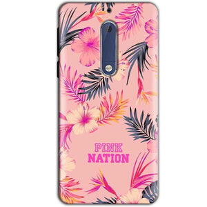 Nokia 5 Mobile Covers Cases Pink nation - Lowest Price - Paybydaddy.com