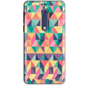 Nokia 5 Mobile Covers Cases Prisma coloured design - Lowest Price - Paybydaddy.com
