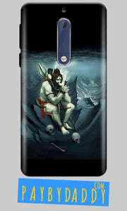 Nokia 5 Mobile Covers Cases Shiva Smoking - Lowest Price - Paybydaddy.com