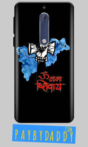 Nokia 5 Mobile Covers Cases om namha shivaye with damru - Lowest Price - Paybydaddy.com