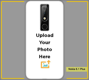 Nokia 6.1 Plus Photo & Text Phone Photo Back Cover - Paybydaddy