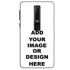 Customized Nokia 6 2018 Mobile Phone Covers & Back Covers with your Text & Photo