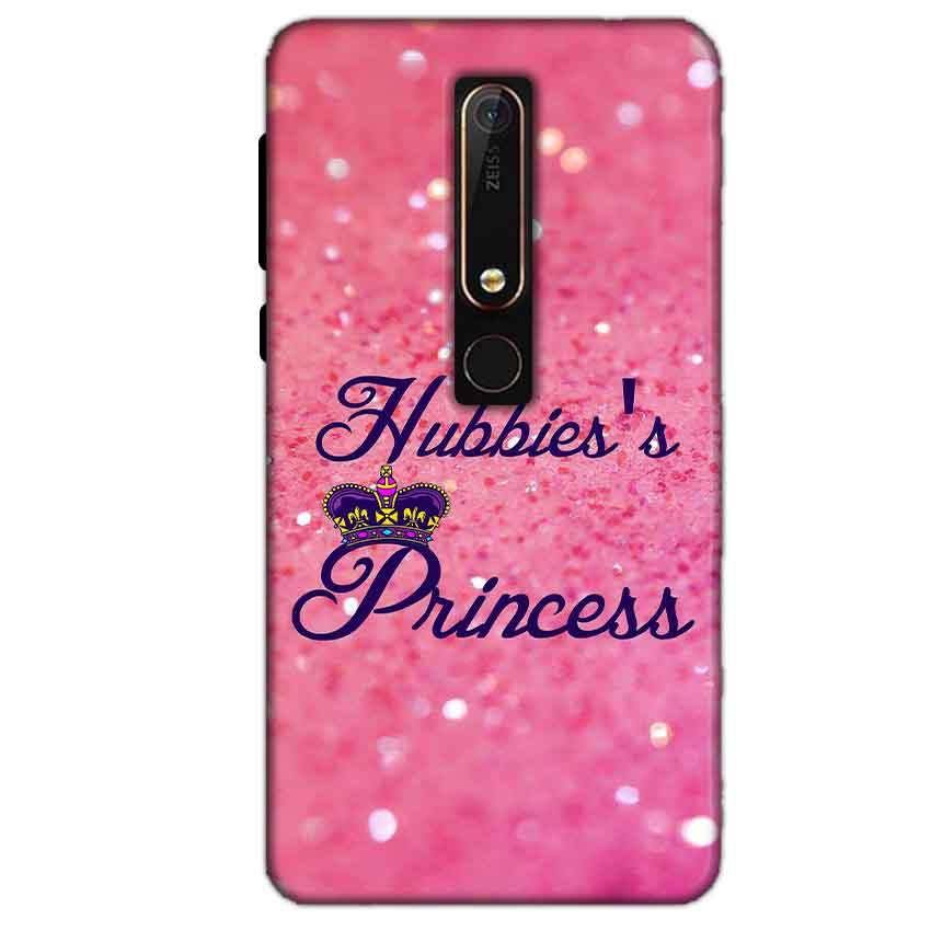 Nokia 6 2018 Mobile Covers Cases Hubbies Princess - Lowest Price - Paybydaddy.com
