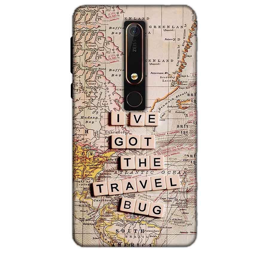 Nokia 6 2018 Mobile Covers Cases Live Travel Bug - Lowest Price - Paybydaddy.com