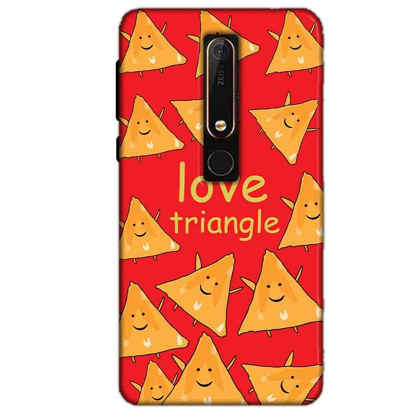 Nokia 6 2018 Mobile Covers Cases Love Triangle - Lowest Price - Paybydaddy.com
