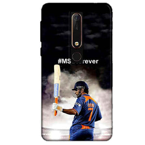 Nokia 6 2018 Mobile Covers Cases MS dhoni Forever - Lowest Price - Paybydaddy.com