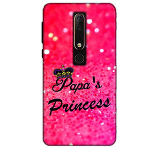 Nokia 6 2018 Mobile Covers Cases PAPA PRINCESS - Lowest Price - Paybydaddy.com