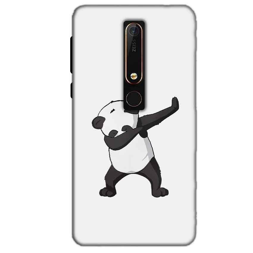Nokia 6 2018 Mobile Covers Cases Panda Dab - Lowest Price - Paybydaddy.com