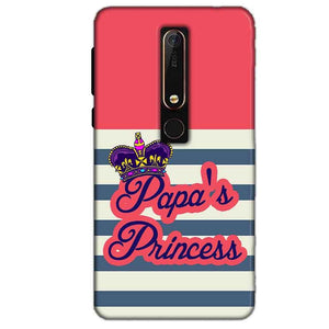 Nokia 6 2018 Mobile Covers Cases Papas Princess - Lowest Price - Paybydaddy.com