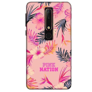 Nokia 6 2018 Mobile Covers Cases Pink nation - Lowest Price - Paybydaddy.com