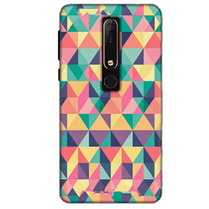 Nokia 6 2018 Mobile Covers Cases Prisma coloured design - Lowest Price - Paybydaddy.com
