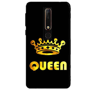 Nokia 6 2018 Mobile Covers Cases Queen With Crown in gold - Lowest Price - Paybydaddy.com