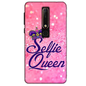 Nokia 6 2018 Mobile Covers Cases Selfie Queen - Lowest Price - Paybydaddy.com