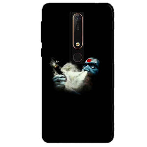 Nokia 6 2018 Mobile Covers Cases Shiva Aghori Smoking - Lowest Price - Paybydaddy.com